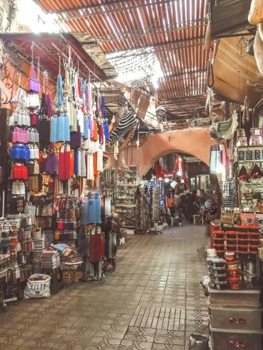 marrakech morocco souk medina