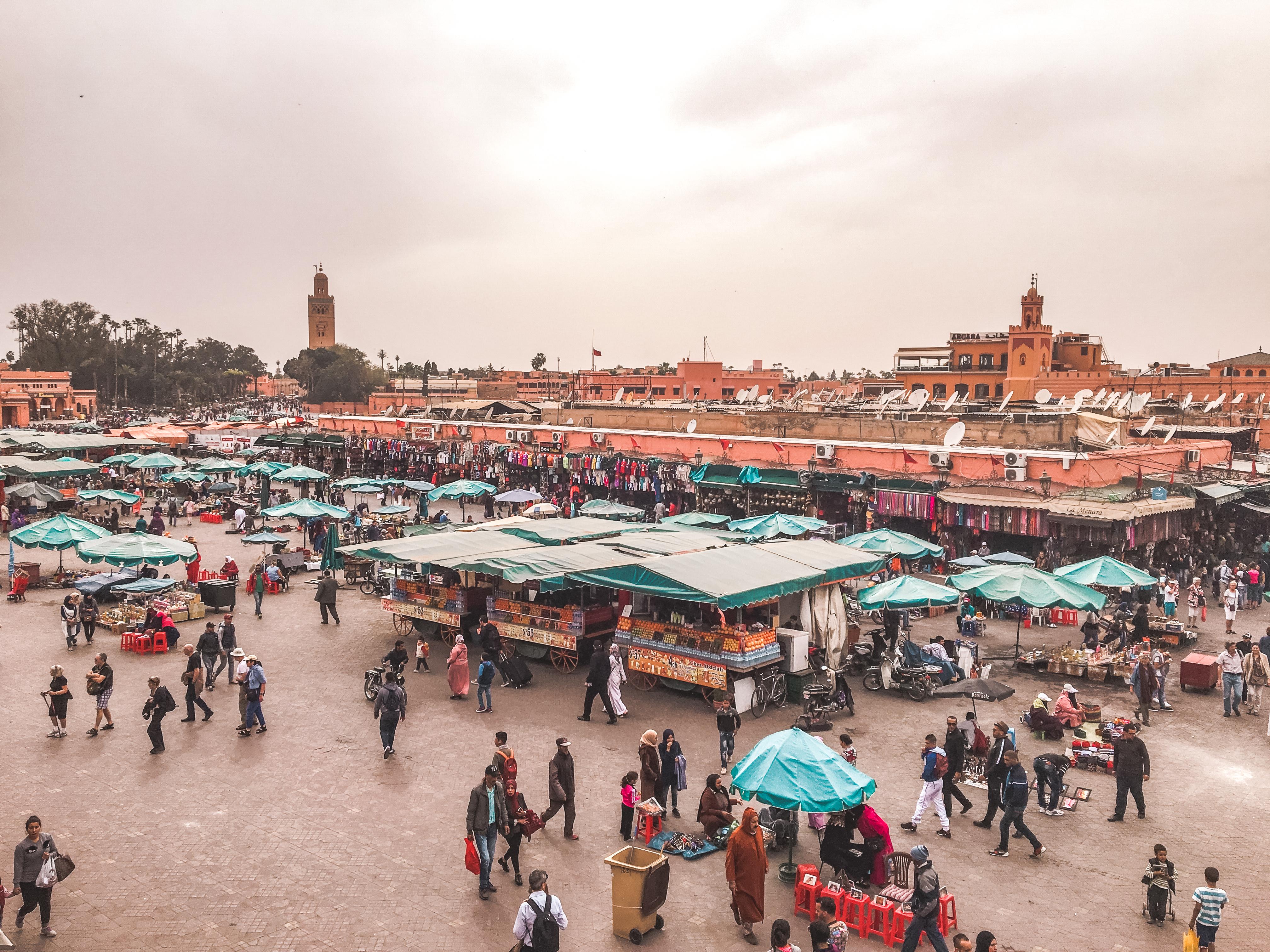 djemma el fna square marrakech morocco