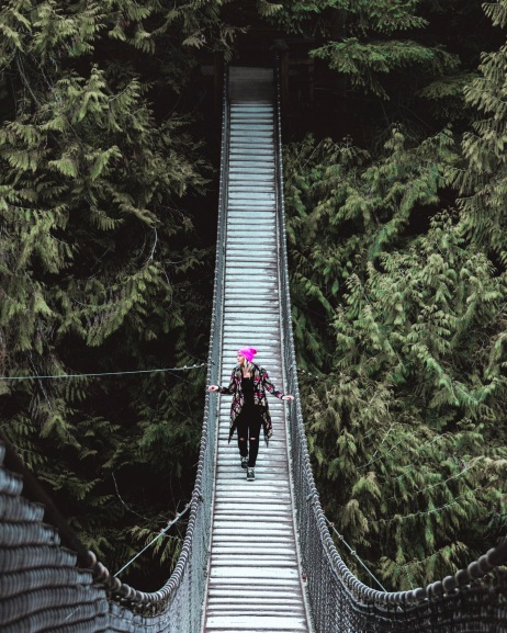 lynn canyon suspension bridge vancouver