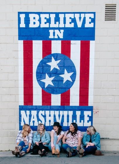 nashville bachelorette photo shoot photographer girls weekend