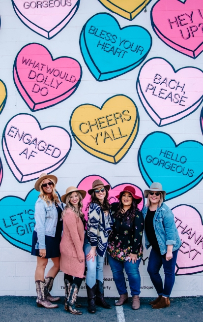 nashville bachelorette photo shoot