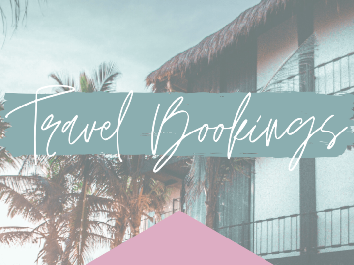 travel bookings vs versus travel agent
